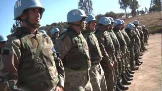 Centro entrenamiento militar en Fuerte Aguayo