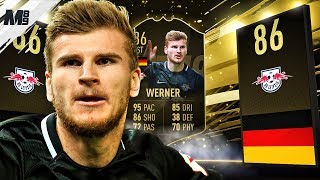 FIFA 19 SIF WERNER REVIEW | 86 SIF WERNER PLAYER REVIEW | FIFA 19 ULTIMATE TEAM
