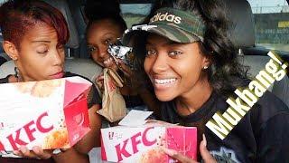 Jamaican KFC Mukbang | PETITE-SUE DIVINITII