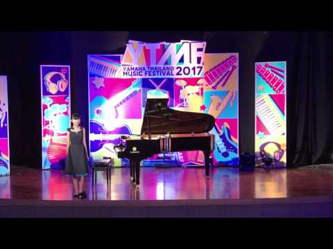 FiawFaow's Piano Solo Competition, Gold Prize of Yamaha Thailand Music Festival 2017.