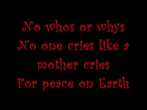 Peace On Earth  U2 with lyrics