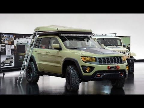 Jeep Grand Cherokee Overlander Concept - 2015 Easter Jeep ...