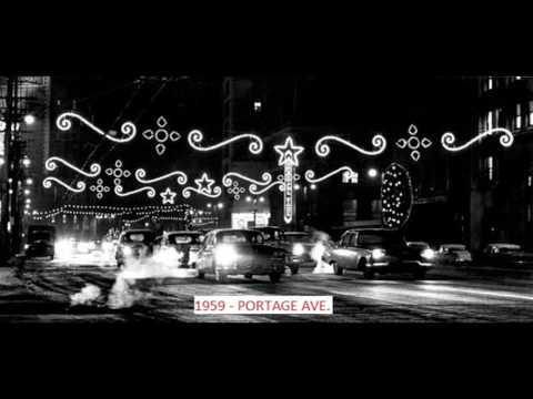 Vintage WINNIPEG, MANITOBA downtown Christmas photos slideshow
