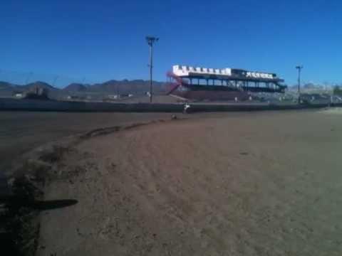 Dave Keil Reno Fernley Raceway 3/8 banked cushion