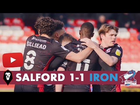 Salford Scunthorpe Goals And Highlights