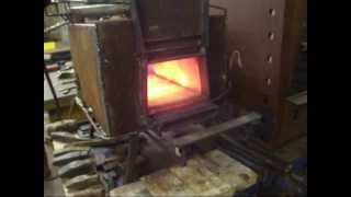Natural gas forge