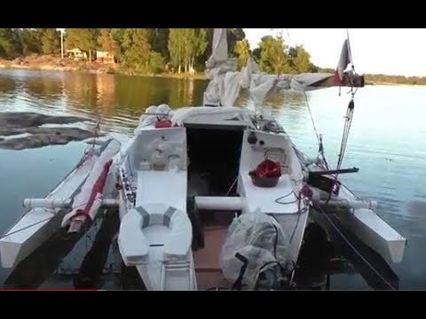 The Stockholm Archipelago small trimaran sailing 2017