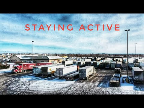 My Trucking Life | STAYING ACTIVE | #1850
