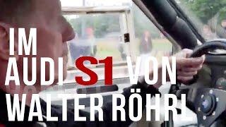 Sidney bei Walter Röhrl im Audi S1