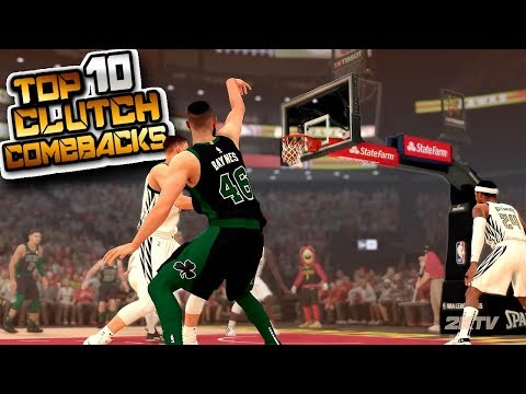 "NBA 2K19 Top 10 ""CLUTCH COMEBACK"" Buzzer Beater Plays Of The Week #29 thumbnail"
