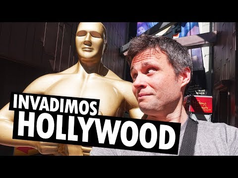 FOMOS para HOLLYWOOD em LOS ANGELES, ESTADOS UNIDOS!