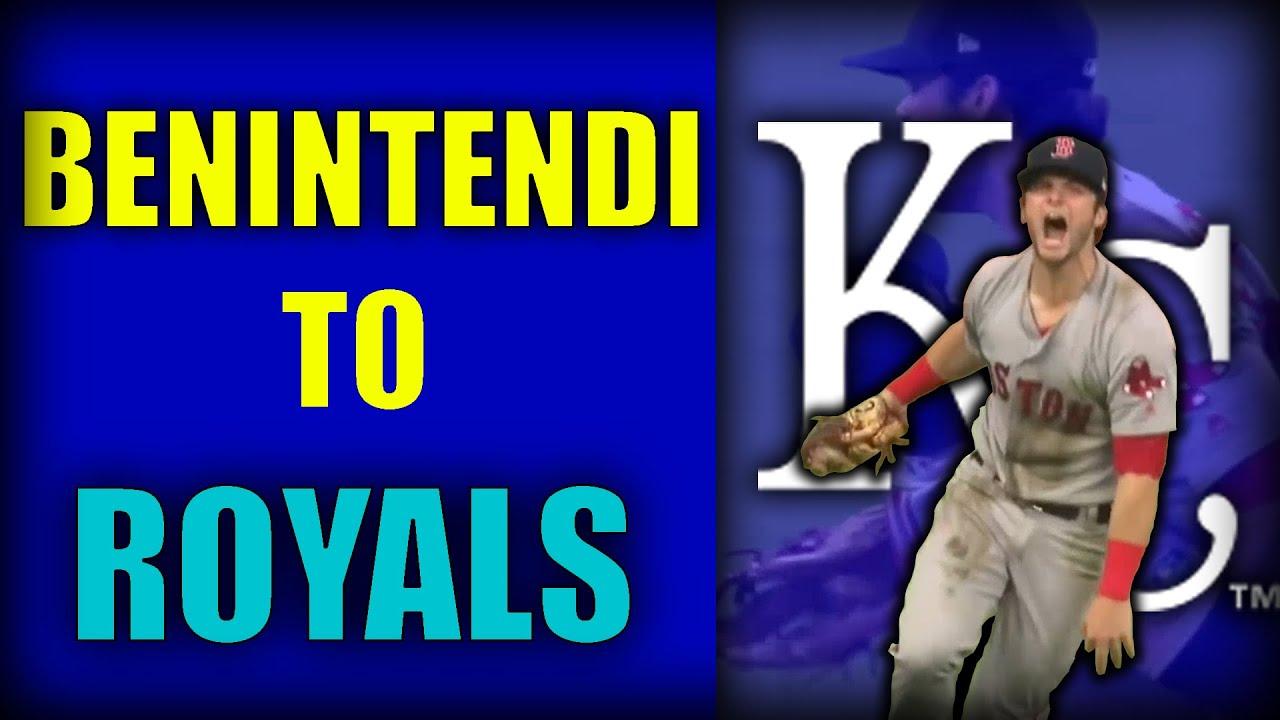 Royals acquire Andrew Benintendi in three-team trade