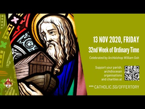 Catholic Weekday Mass Today Online - Friday, 32nd Week of Ordinary Time 2020