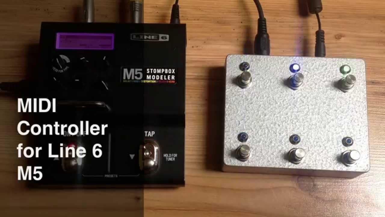 Midi Controller For Line 6 M5