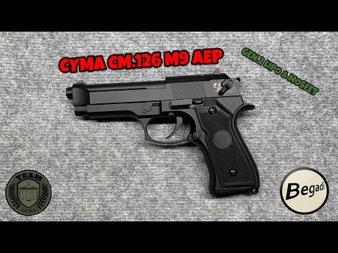 [REVIEW] M9 AEP Review CYMA CM.126 Gen.2 LiPo & Mosfet By BEGADI Deutsch/german