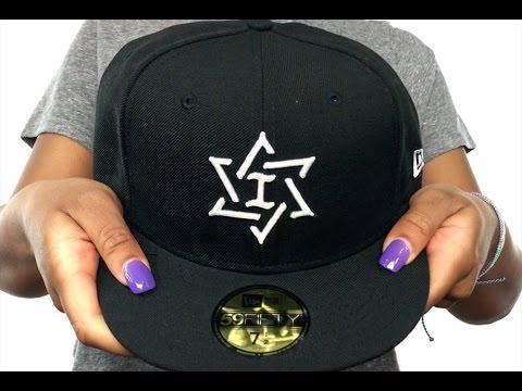 Israel 'PERFORMANCE WBC' Black-White Hat By New Era