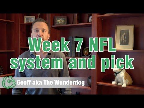 Wunderdog Sports: NFL Week 7