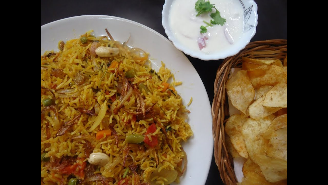 Vegetable biryani lunch box recipe variety rice indian rice vegetable biryani lunch box recipe variety rice indian rice varieties youtube forumfinder Gallery