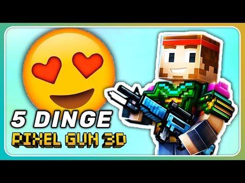 5 Dinge die ich an Pixel Gun 3D liebe!