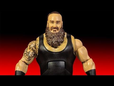 WWE BRAUN STROWMAN /& ACCESSORIES ELITE SERIES 58 WRESTLING MATTEL ACTION FIGURE