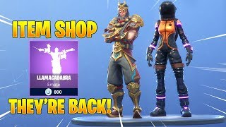 WUKONG & DARK VANGUARD SKINS Are BACK! Fortnite Item Shop March 27, 2019