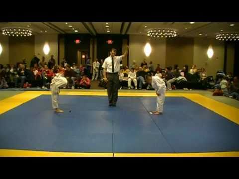 Judo Kid Fights 10 Kids And Wins