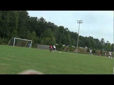 ATL cup 2012 Abbie abrahart nice pass
