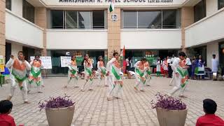 Patriotic | Independence day Dance | India wale ,Rang de Basanti | KKDA | ARP School | Shirpur