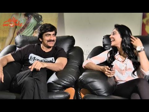Ravi Teja And Regina Cassandra Special Interview P1 - Exclusive - Power Movie
