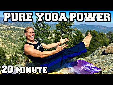 Power Yoga for Weight Loss - 20 min Fat Burning Workout #poweryoga