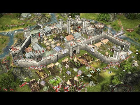 STRONGHOLD 2 | Multiplayer Versus | 1 | RTS Castle And Village Building Game