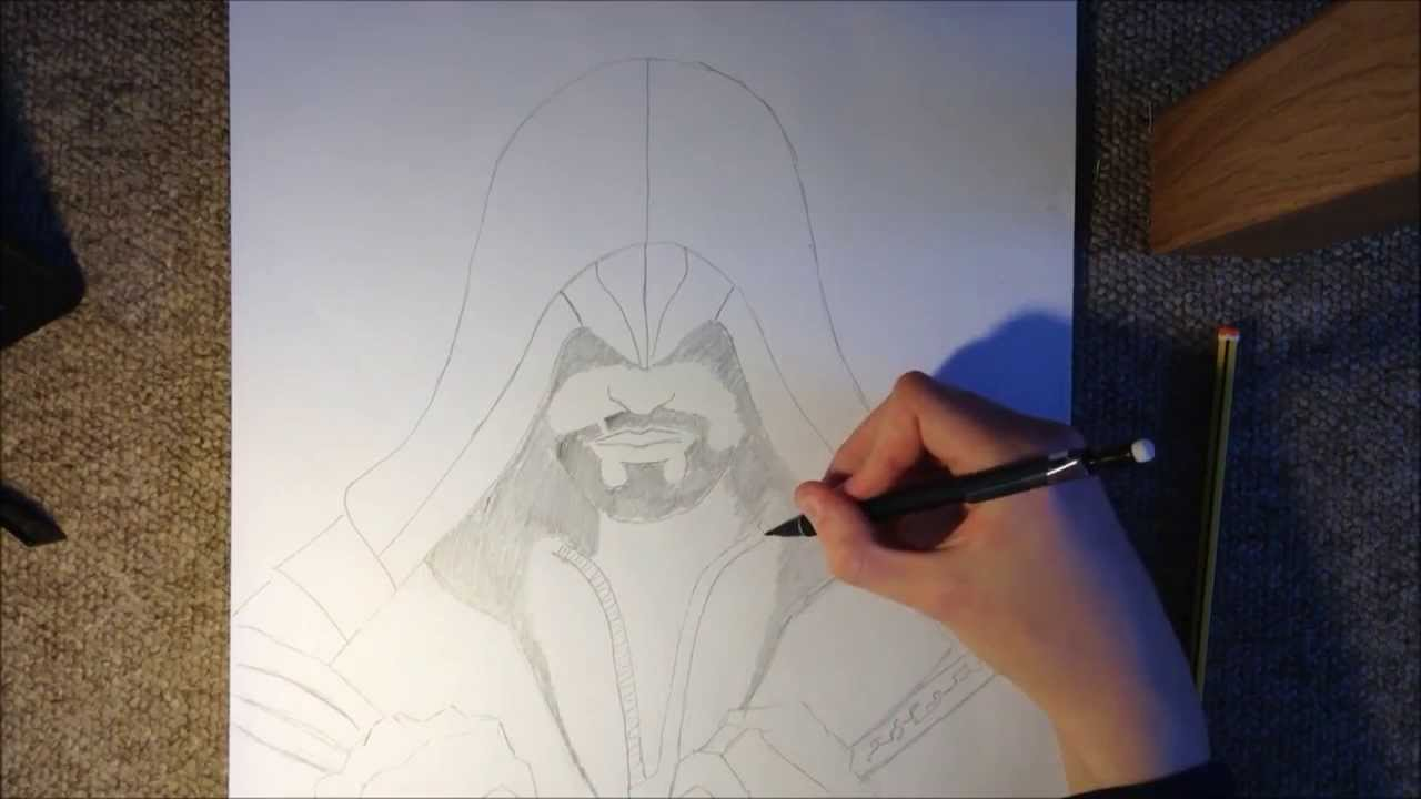 Assassin S Creed Drawing Ezio Auditore