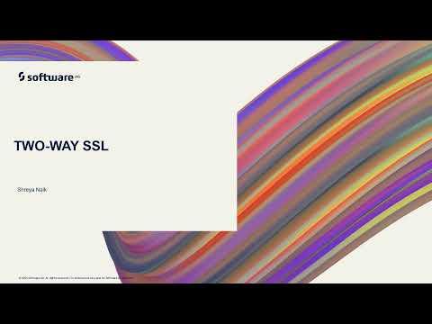Two-Way SSL | webMethods.io Integration Tutorials