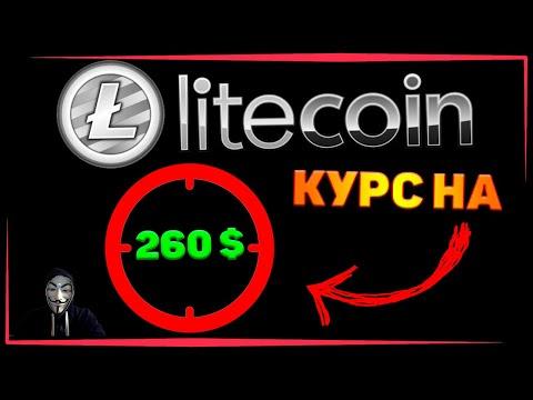 Litecoin (LTC) криптовалюта - прогноз роста курса до 260$ в 2020 году!