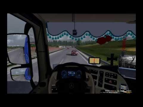 Euro Truck Simulator 2 || AL - BO Transport VTC || Krakow - Warszawa [HD]