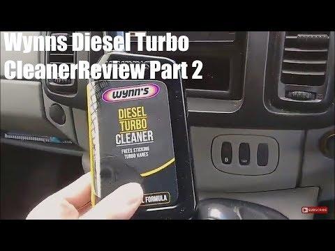 Wynns Diesel Turbo Cleaner Review Part 2
