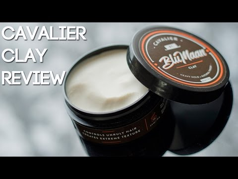 Cavalier Clay by BluMaan Honest Review - Men's Hair Products 2017 - 동영상