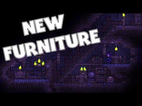 Corruption Furniture is here! - 1.3.6 Terraria Update
