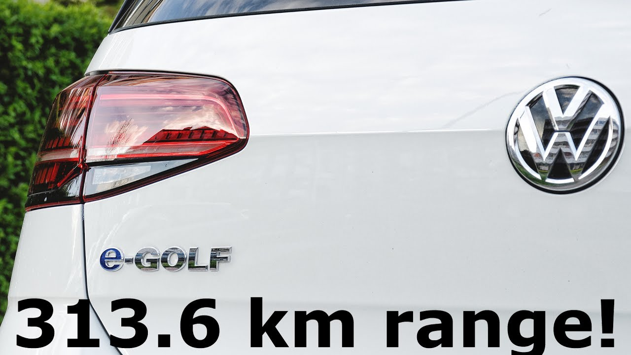 2018 volkswagen e golf range. delighful range 3136 km range in volkswagen egolf more than vw claims  1001cars for 2018 volkswagen e golf