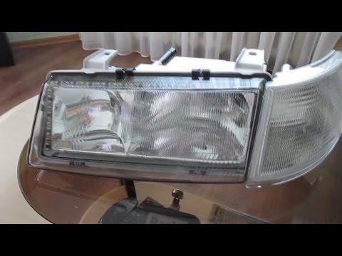 Установка светодиодной полосы в фары BOSH ВАЗ 2110