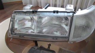 Установка светодиодной полосы в фары BOSH ВАЗ 2110(Купил блокфары BOSH на ВАЗ 2110 и установил в них в качестве дневных ходовых огней светодиодную ленту на габари..., 2015-04-14T21:46:06.000Z)