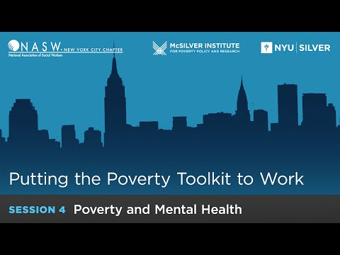 Putting the Poverty Toolkit to Work: Poverty and Mental Health