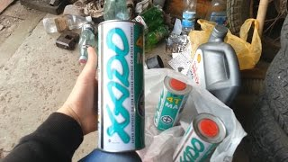 Прикупил новое масло хадо для мота vfr400r
