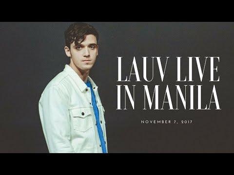 LAUV LIVE IN MANILA!!