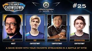 Streamer Showdown #25 Overwatch Edition (feat. xQc, Calvin, Mendokusaii, ZP)