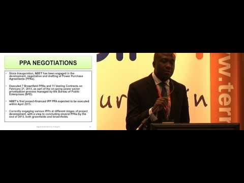 Dr Nnaemeka Ewelukwa - Nigerian Bulk Electricity Trading Plc