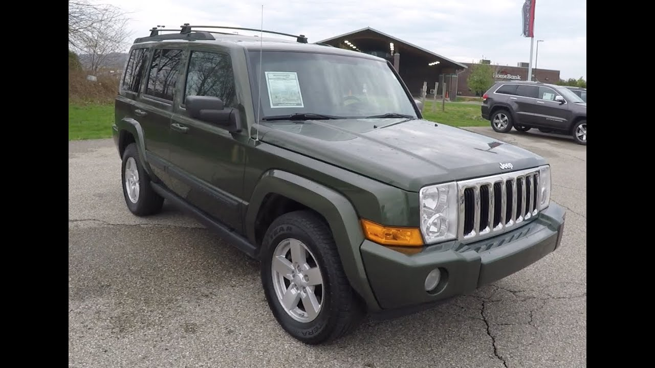 2007 Jeep Commander Sport 4x4 P10148a Youtube