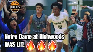 THIS IS OUR HOUSE! Notre Dame at Richwoods was LIT!