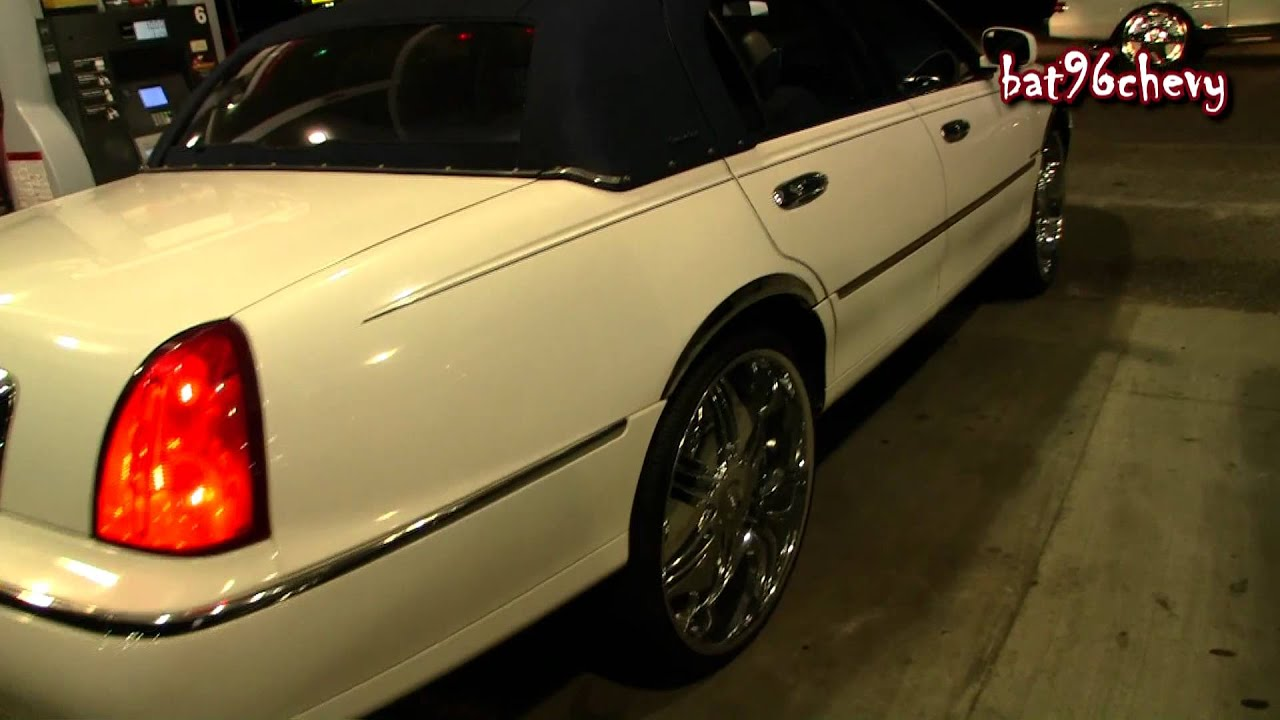 Lincoln Town Car On 26 S 1080p Hd Youtube