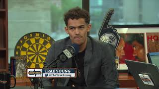 Trae Young On Steph Curry's Impact On Him Entering The NBA Draft | 6/19/18
